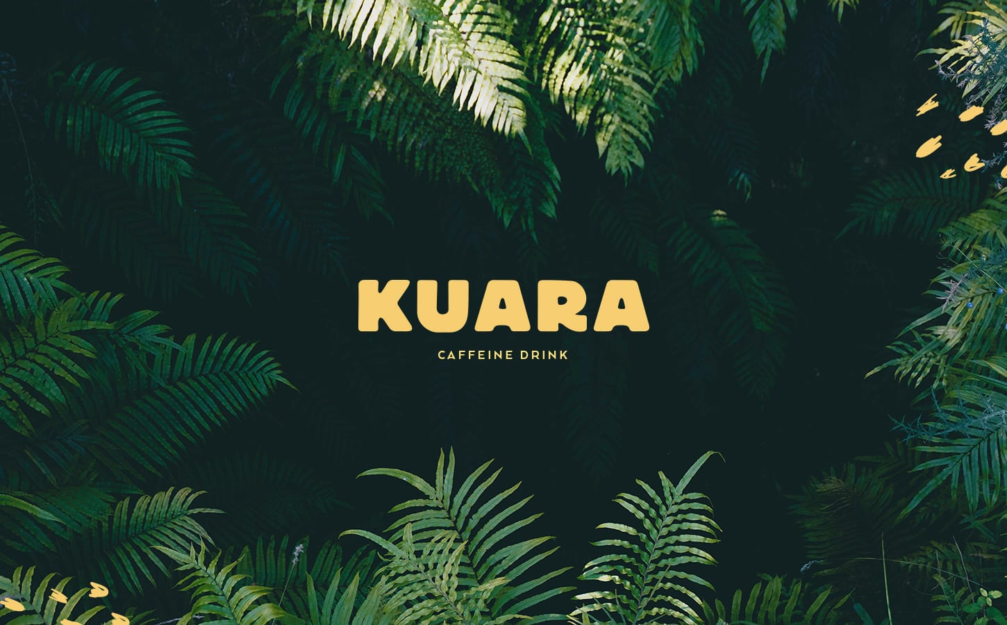 Identity and Packaging Design for Kuara Natural Energy Drink