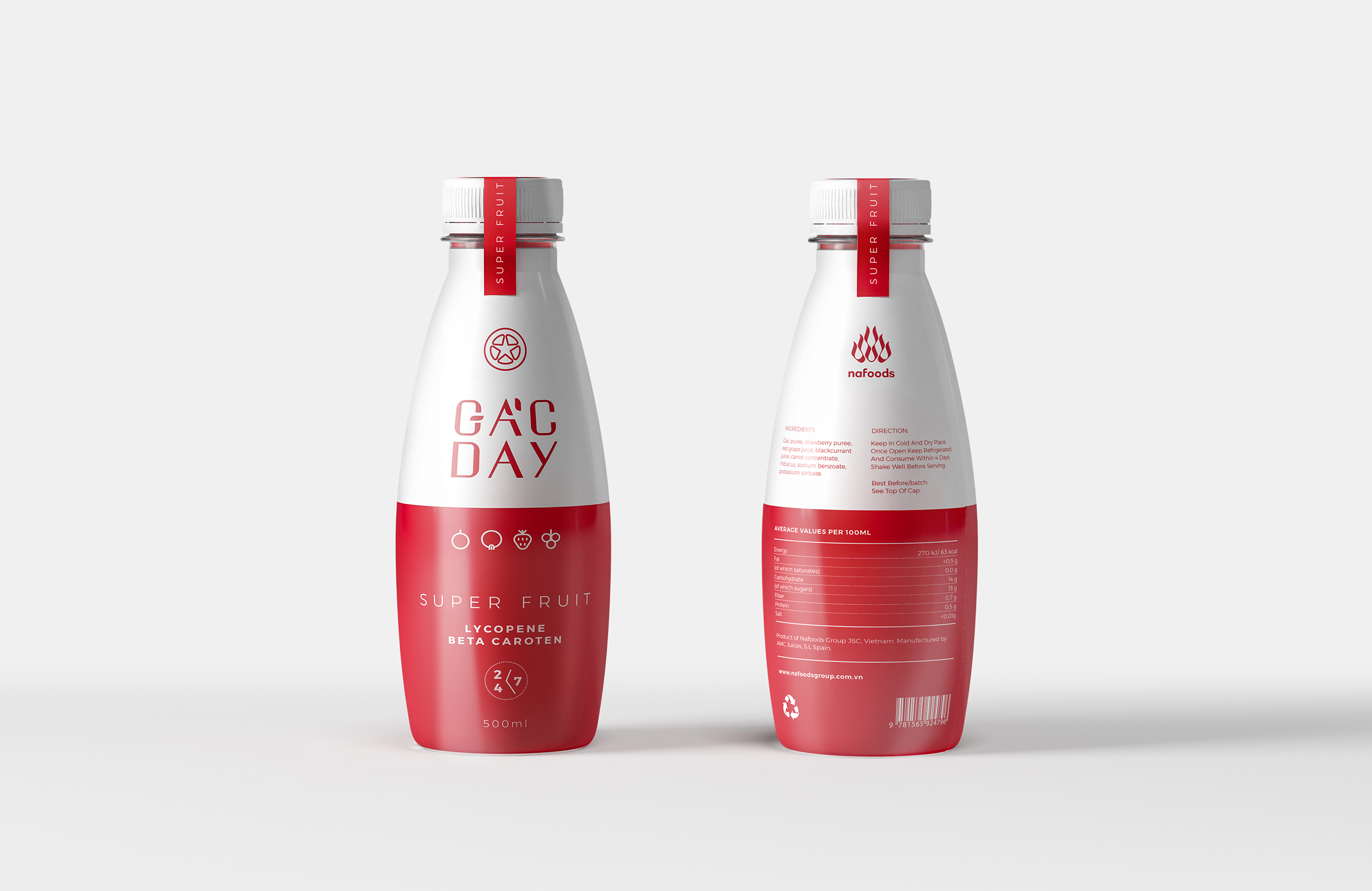 Packaging Design for Vietnam Daily Nutrition Drink