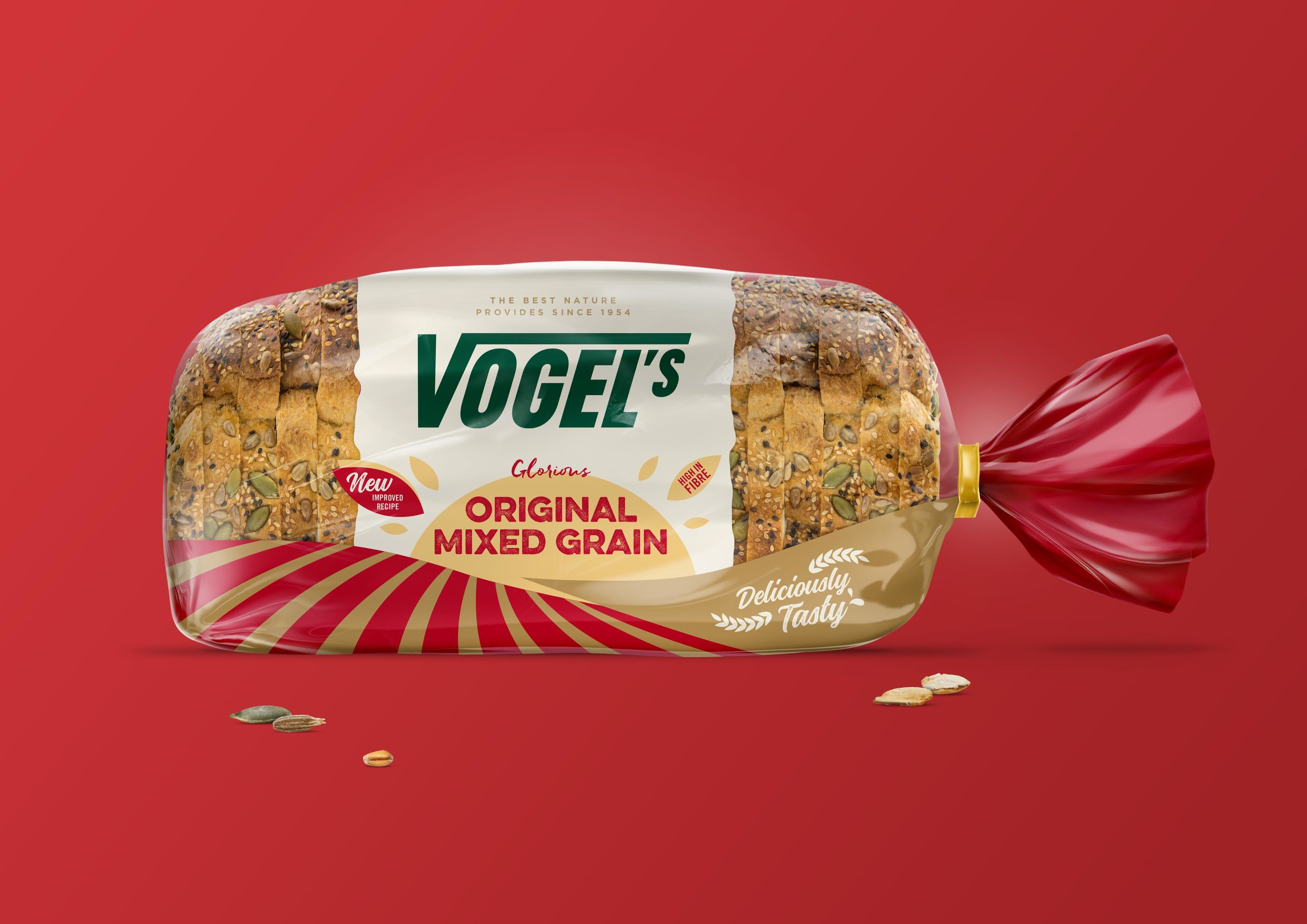 Vogel's Bread Packaging Design, At One with Nature