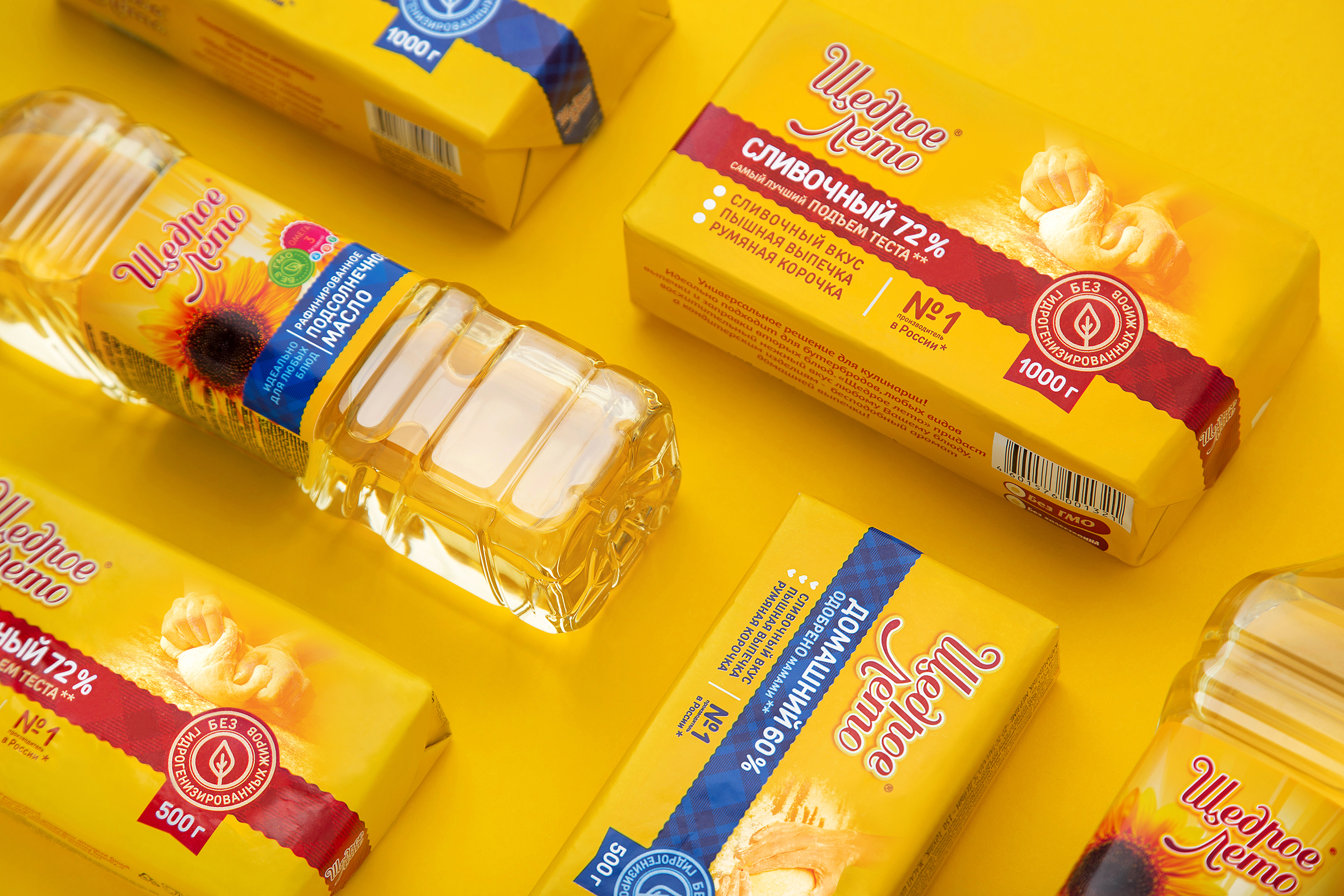 Consumer Brand Redesign and Modernisation of a Belarusian Range of Margarine and Sunflower Oil