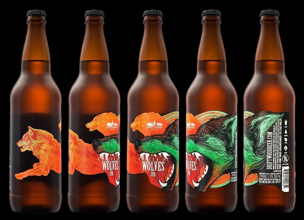 Hired Guns Creative – Raised By Wolves Wild IPA