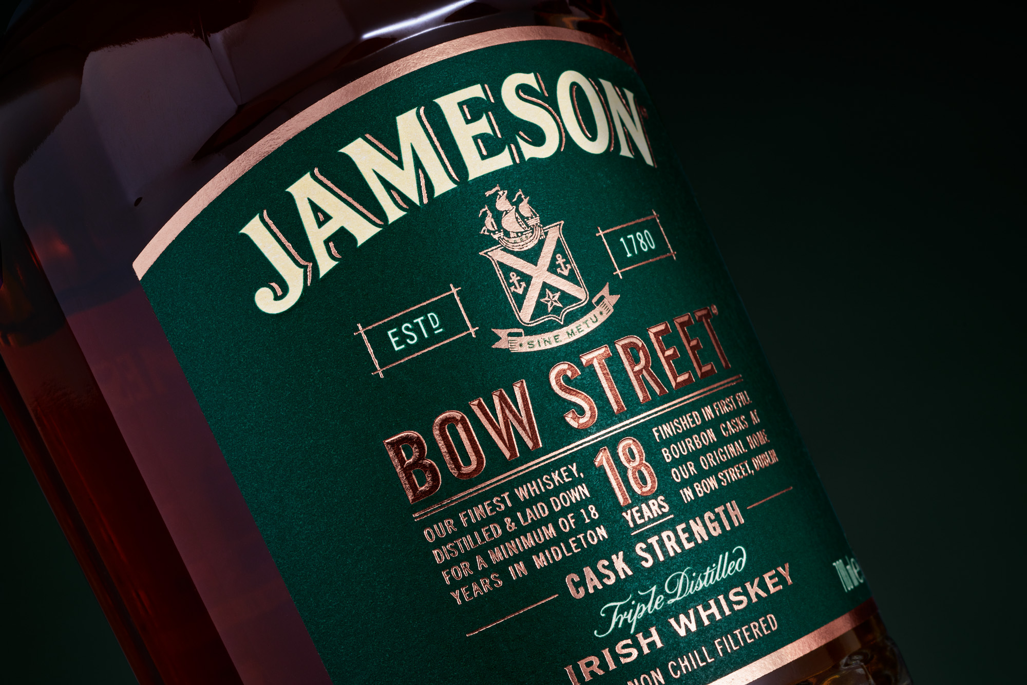 JamesonBow Street 18Years Old – When Each Detail Tells a Story