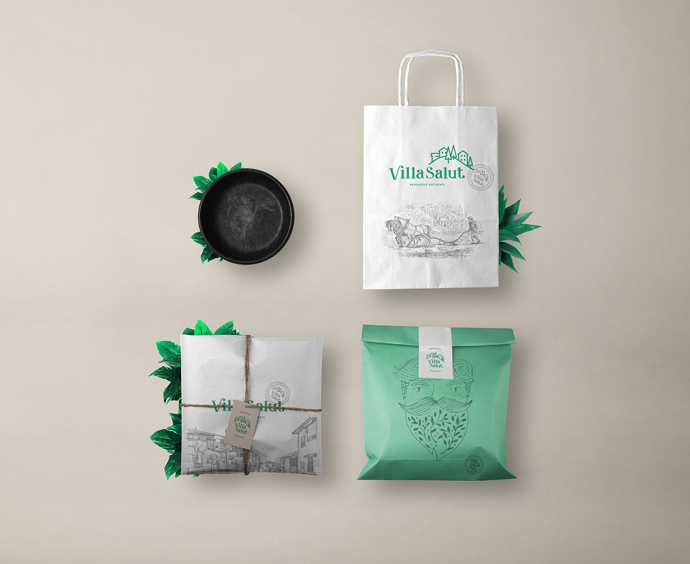 Visual Branding for Natural Products Company