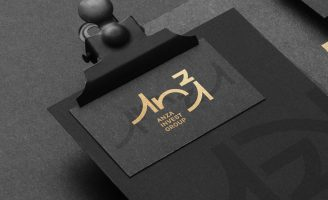 Corporate Branding for a International Investment Group Based in Angola