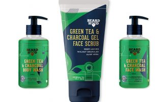 Packaging Design for Beard Hood, a Men's Personal Care Brand in India