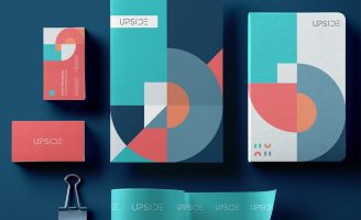 Corporate Brand Identity for Upside Agency