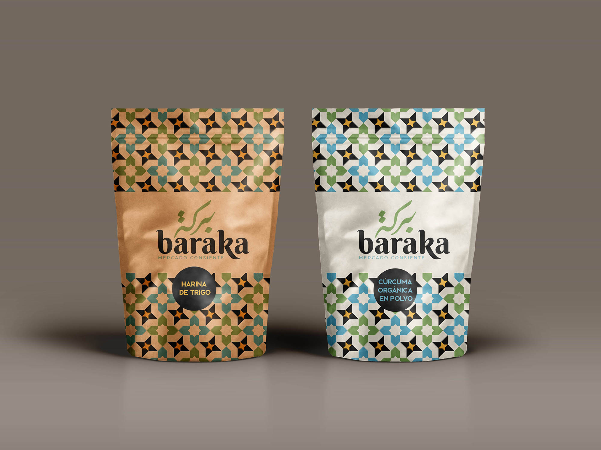 Lebanese Mosaic Influence for Sustainable Packaging and Branding