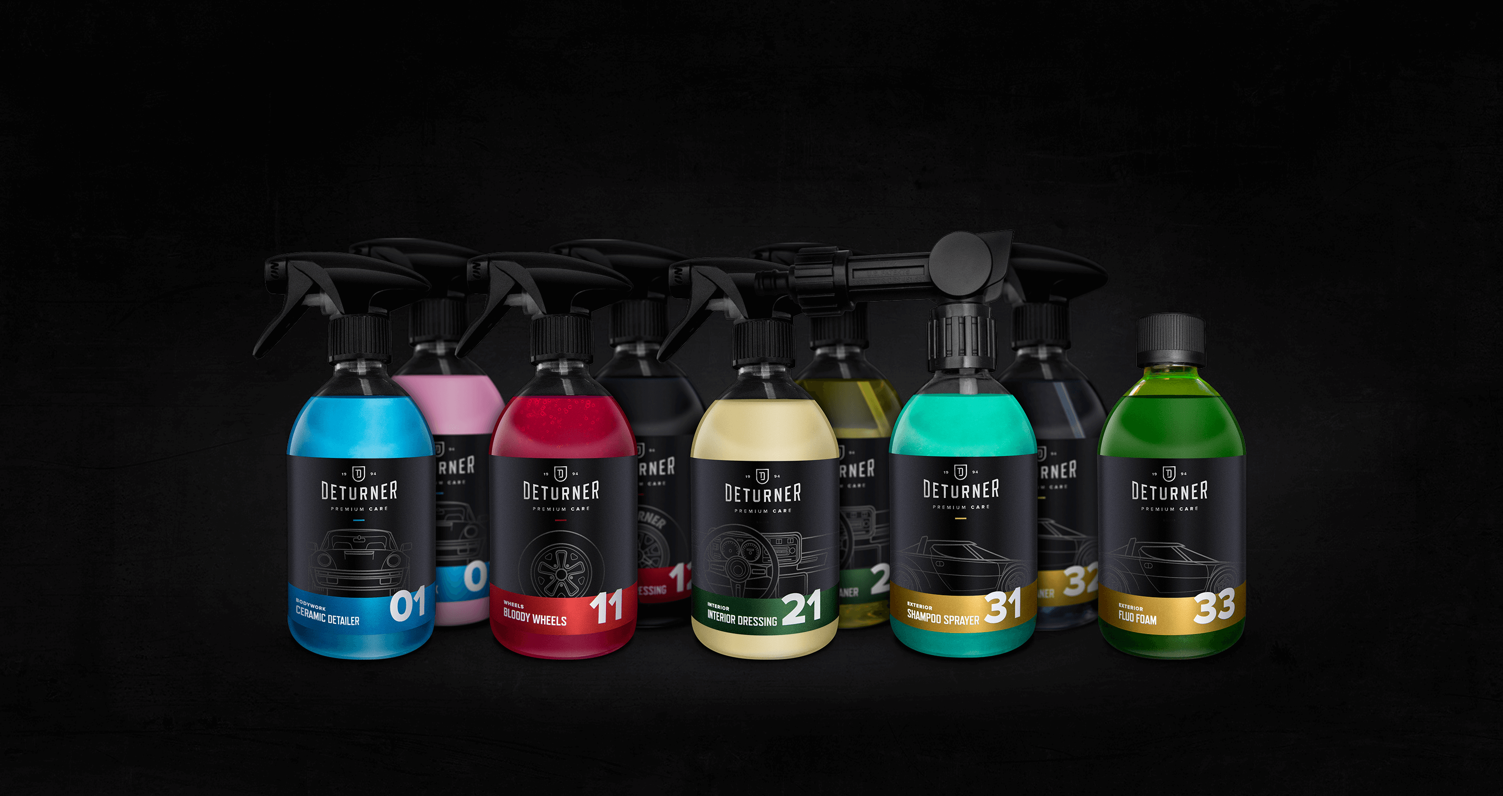 Building a Complete Visual Identity for a Car Cosmetics Manufacturer