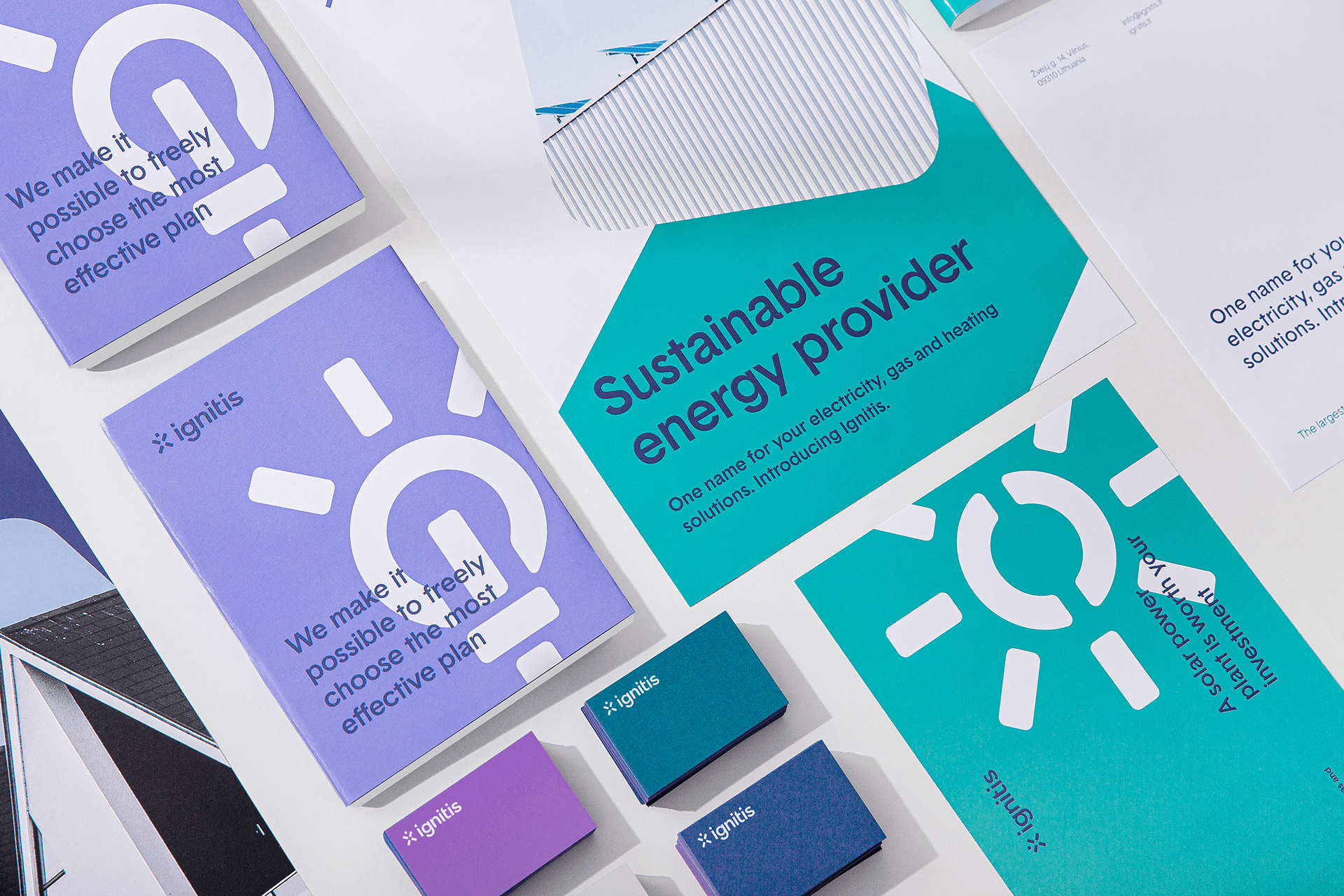 Transforming Brand Identity of National Electricity Provider by Andstudio
