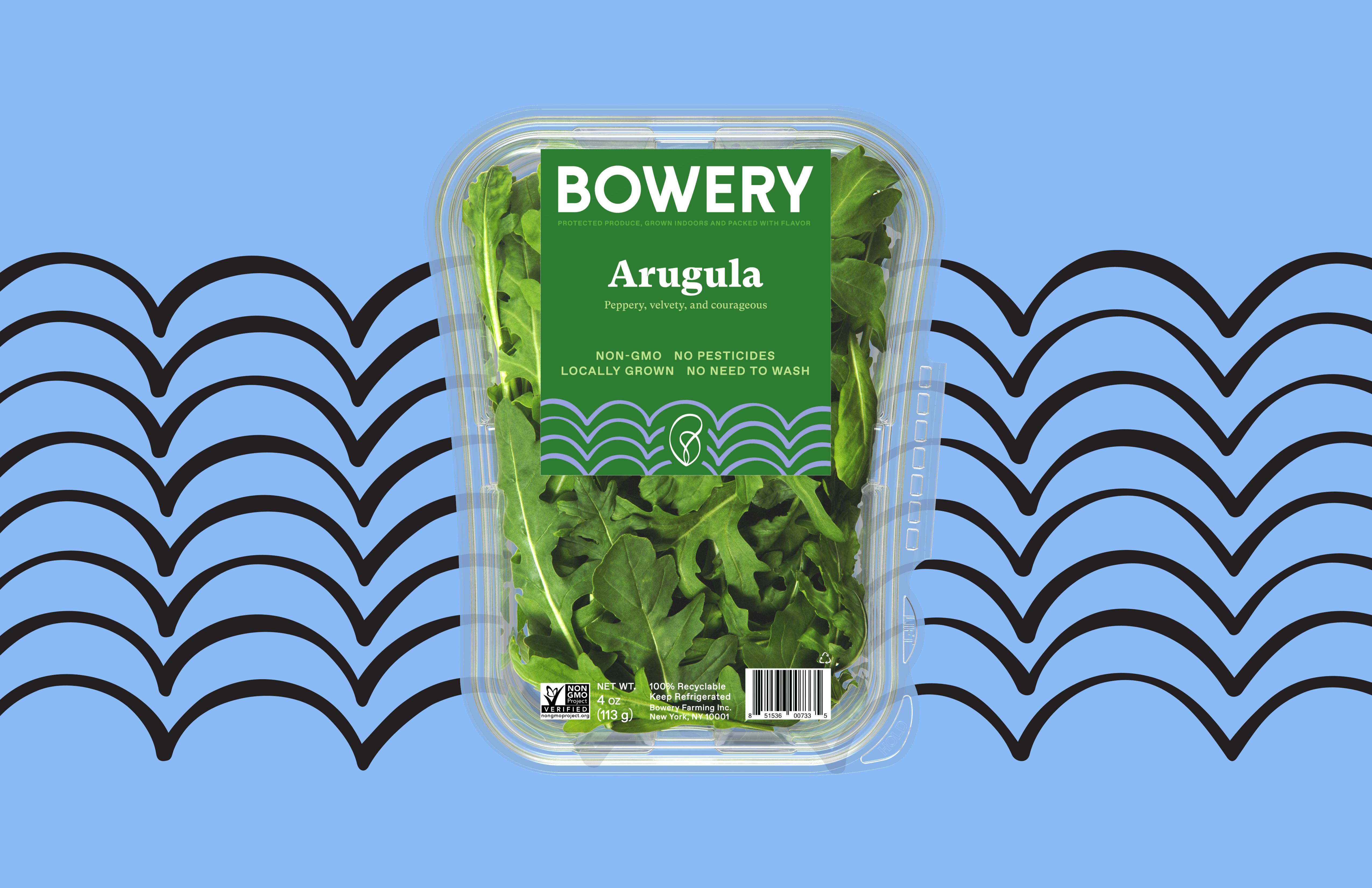 Red Antler and Bowery Farming Team Up Again for a Design Rebrand