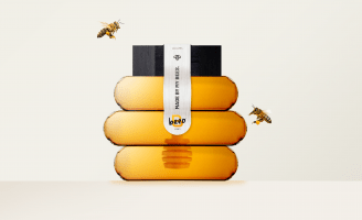 Brand Refinement of Beeo Honey Designed by Hurtikonn