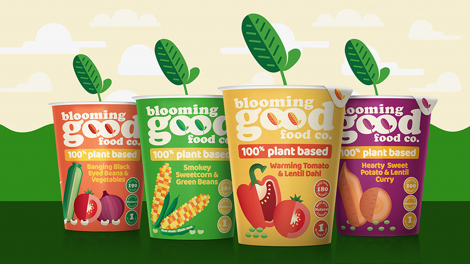 Blooming Good Food Company Launches with Design by Brandon