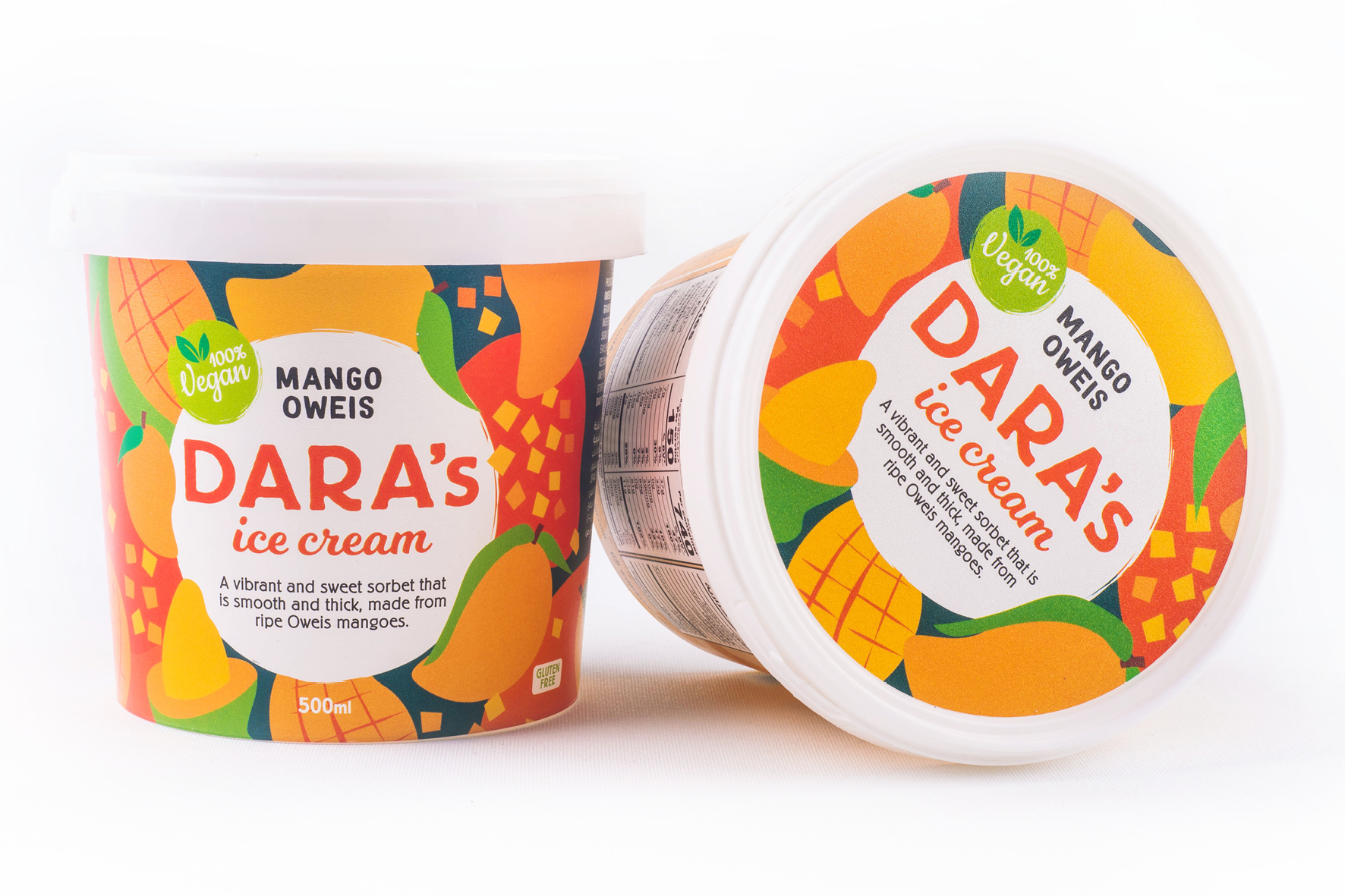 New Ice Cream Packaging Design for Dara's Ice Cream by Tandem