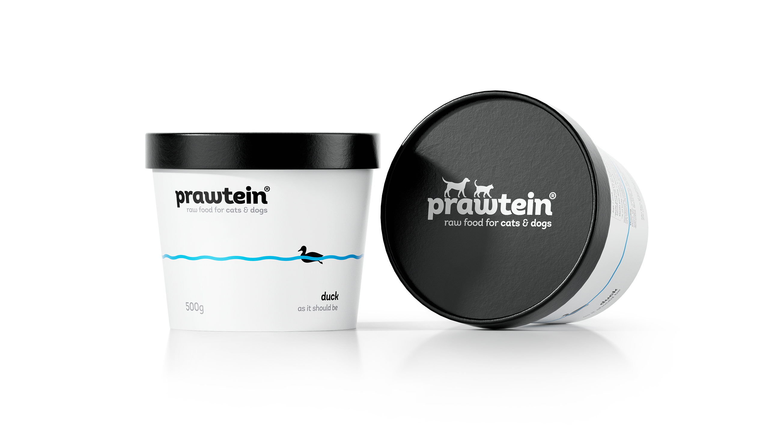 Formascope Design Create Brand and Packaging Design for Prawtein Raw Food for Cats and Dogs