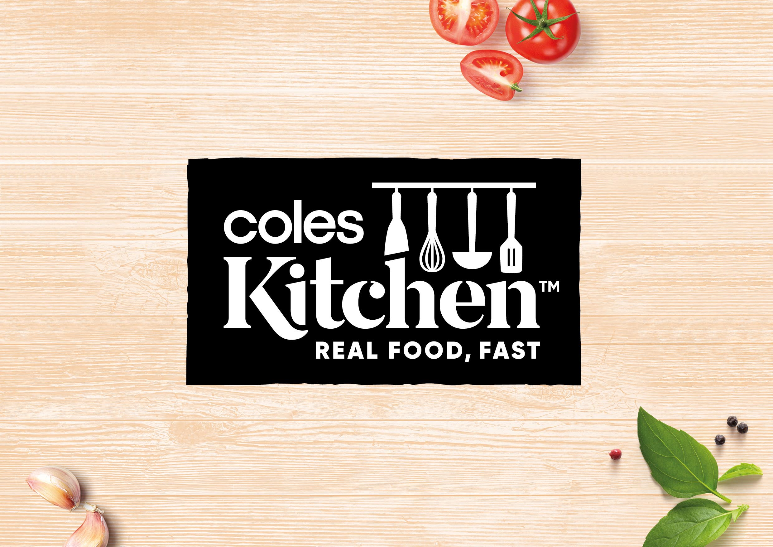 Coles Kitchen Brand Identity, Range Architecture and Style Guide