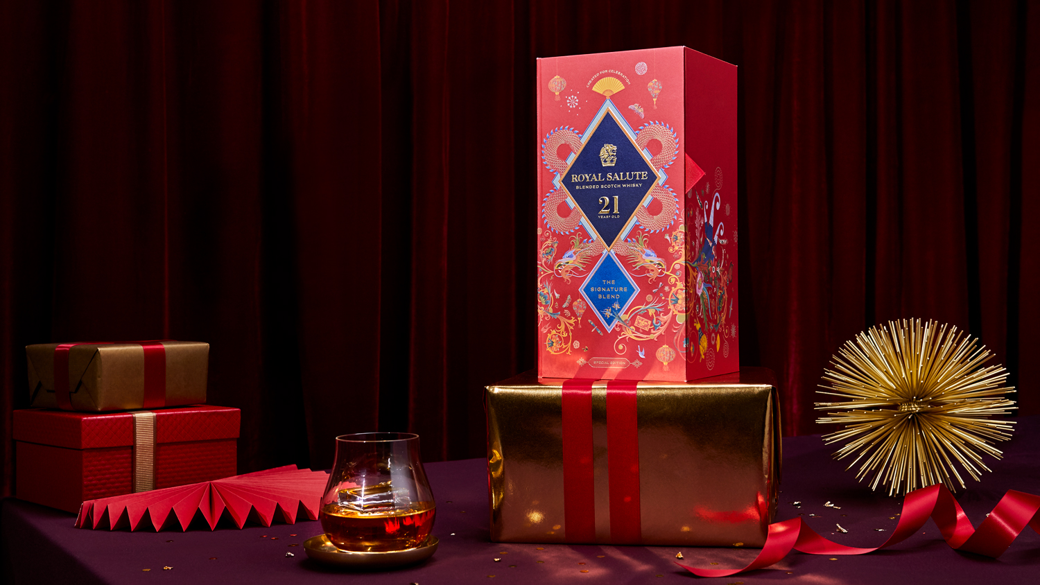 Royal Salute & Boundless Brand Design Chinese New Year Limited Edition