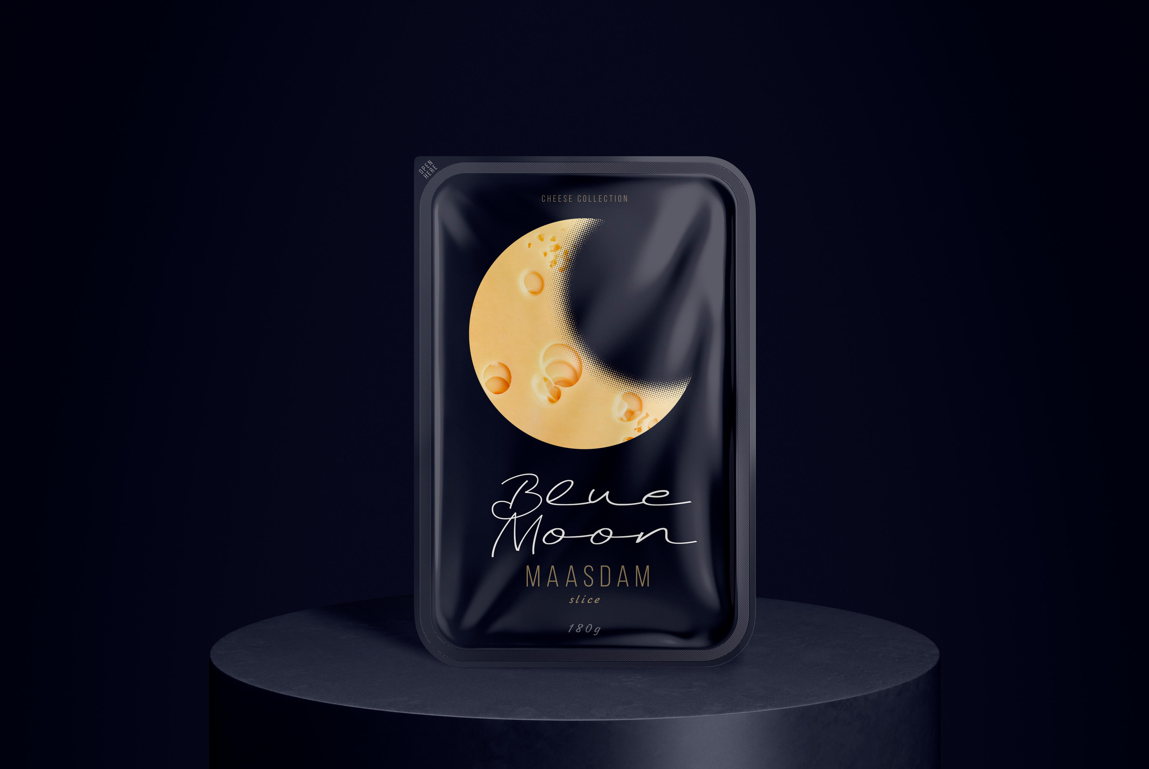 Light Blue Moon Cheeses Are Ideal for a Quick Evening Snack