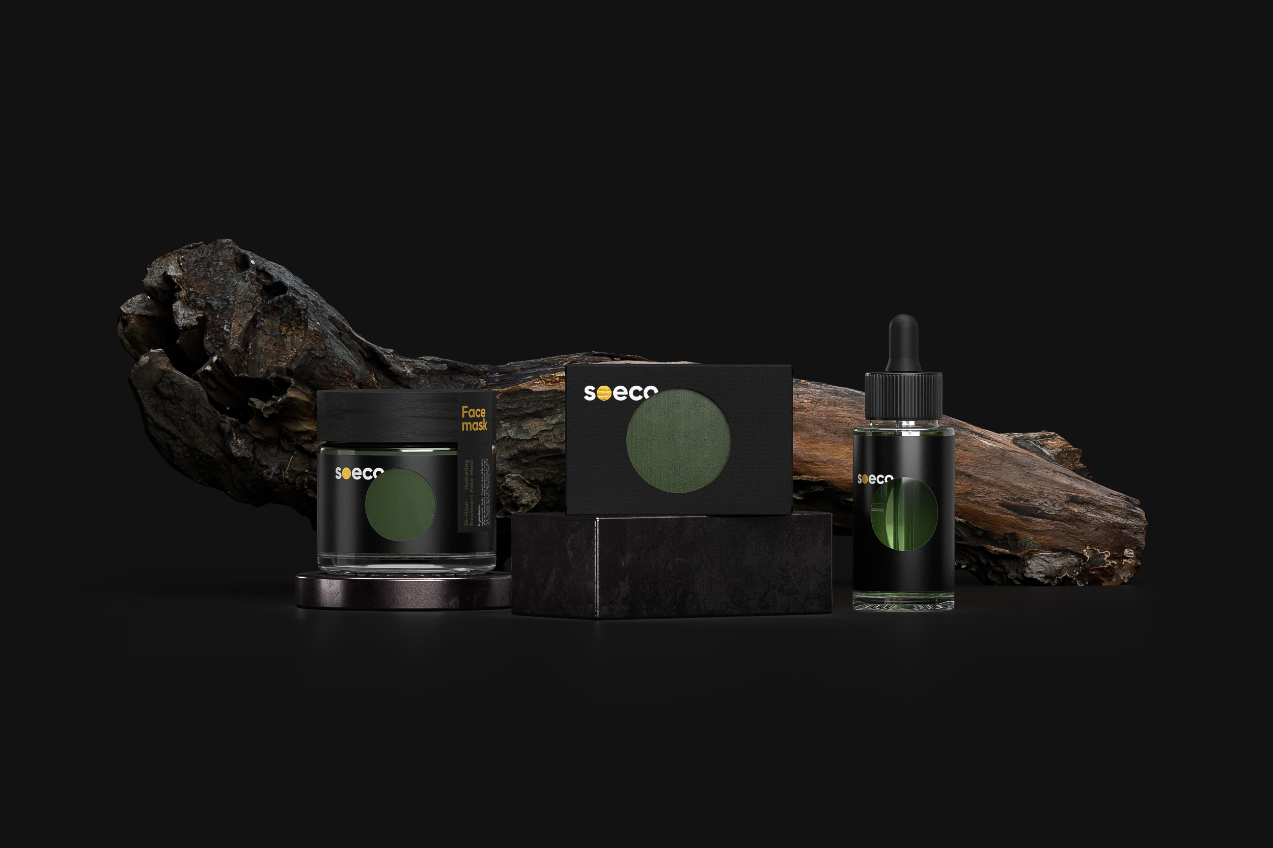 Soeco is a Concept Project for a Line of Skin Care Cosmetic Products