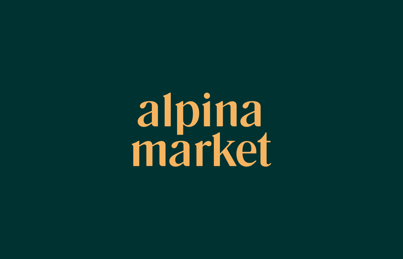 Alpina Market Furniture Factory Branding Created by Severnii Design