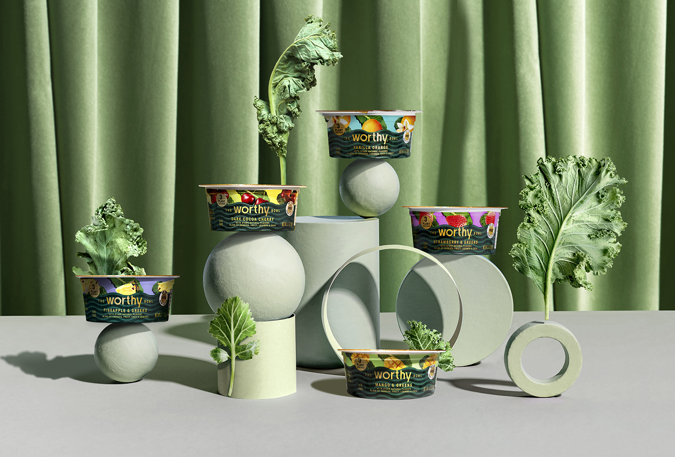 Hatch Design Created a New Plant-based Worthy Food Brand