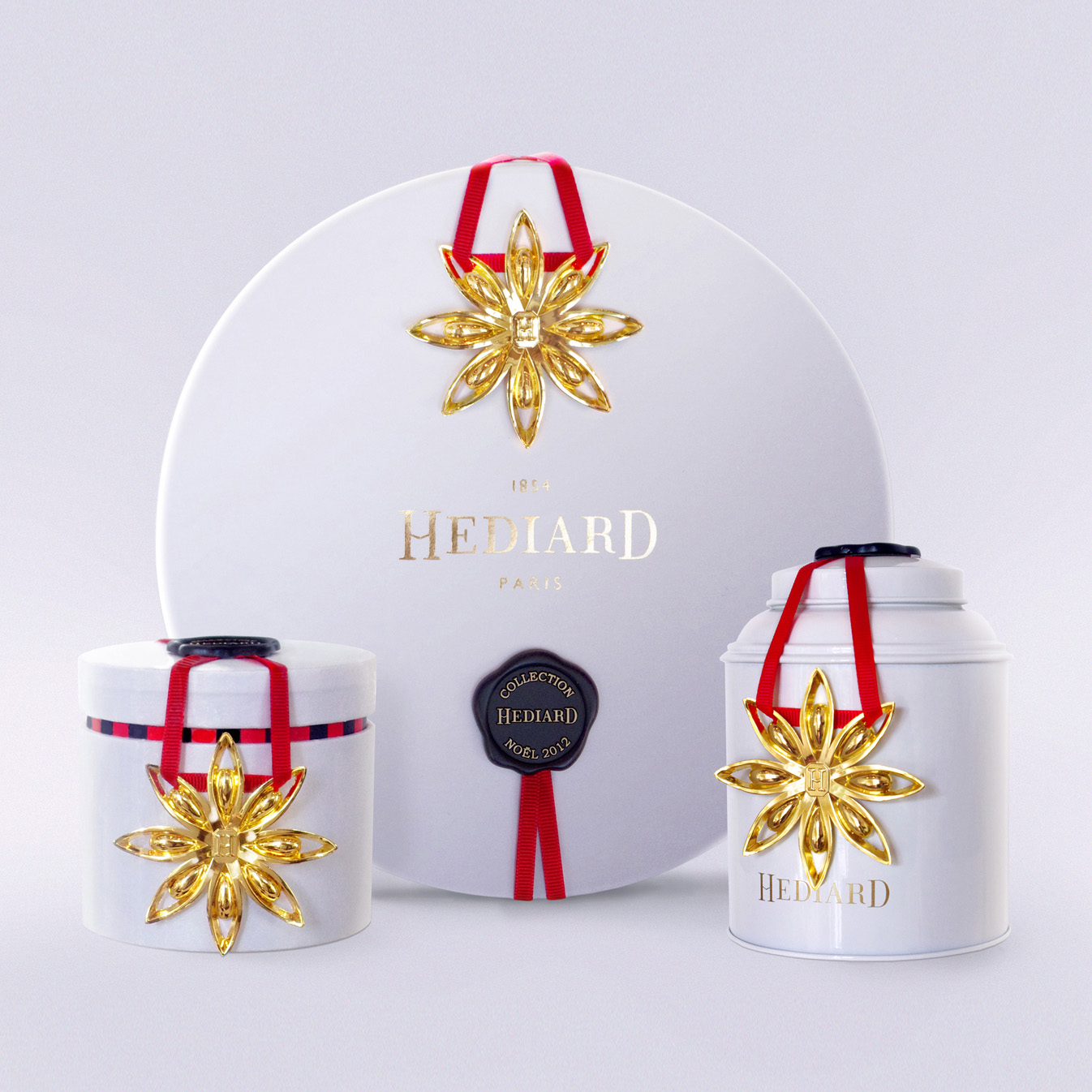 Star Anise Design and Christmas Packaging Collection by Delatour Design Paris