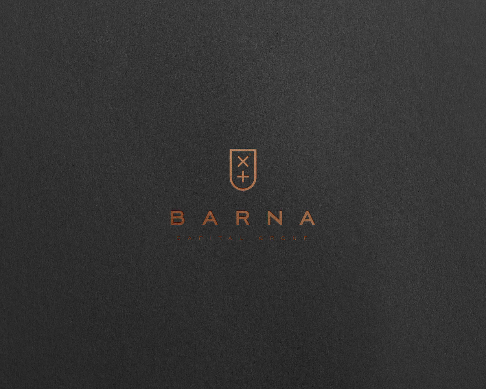 Identity for Barna Investment Market Experts by Redblack Branding Agency