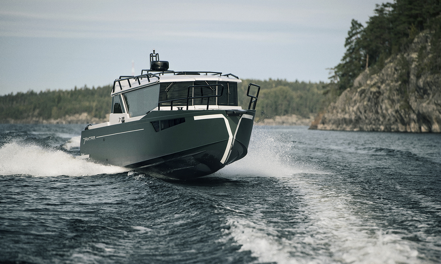 Branding Design by Bedow for a Boat Built for the Far North