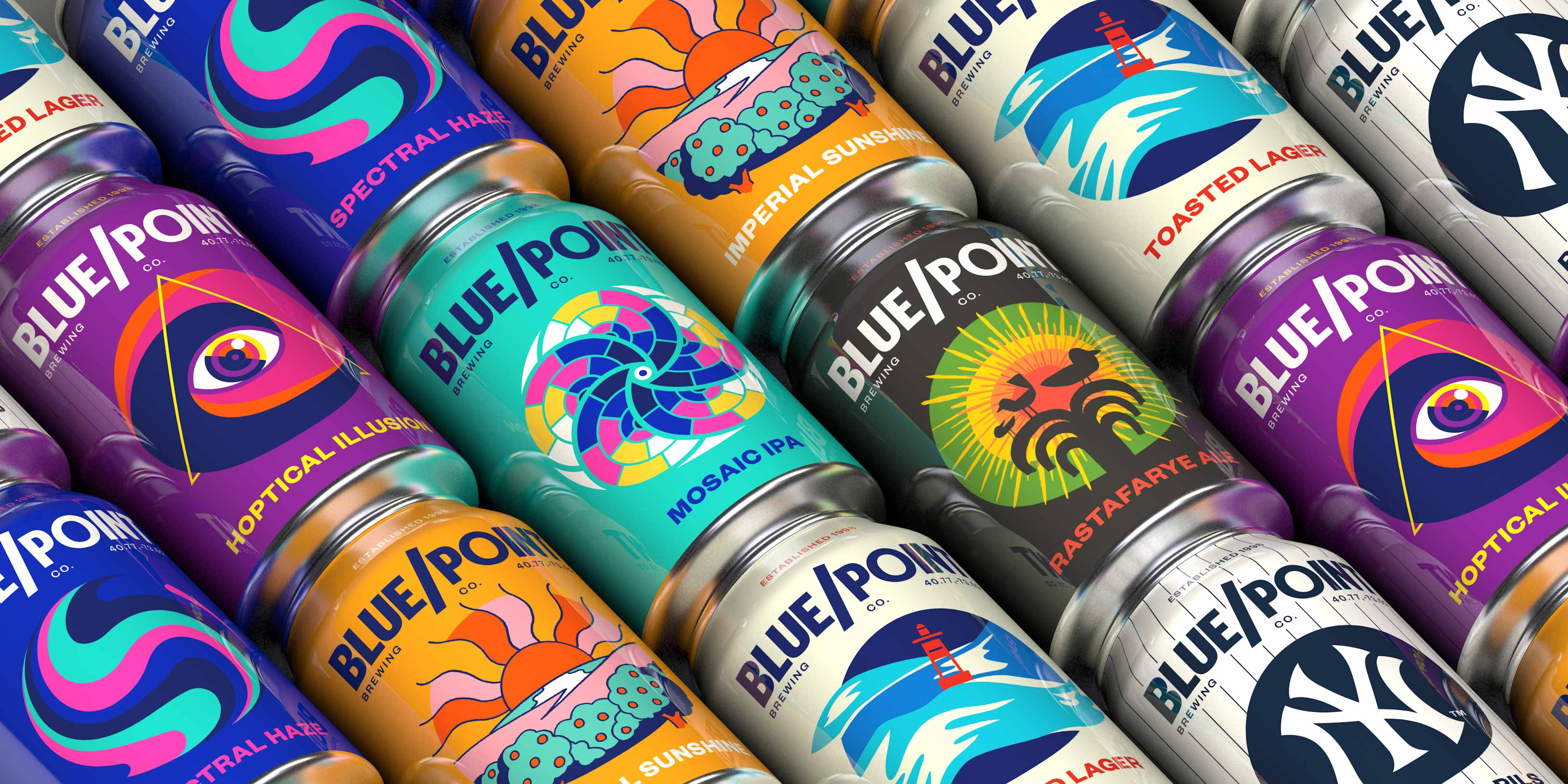 New VBI for Blue Point Brewing Co. by Bardo Industries