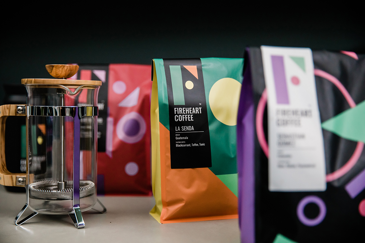 A Bold, Bright and Disruptive Identity for a New London Coffee Roaster Designed by Buddy