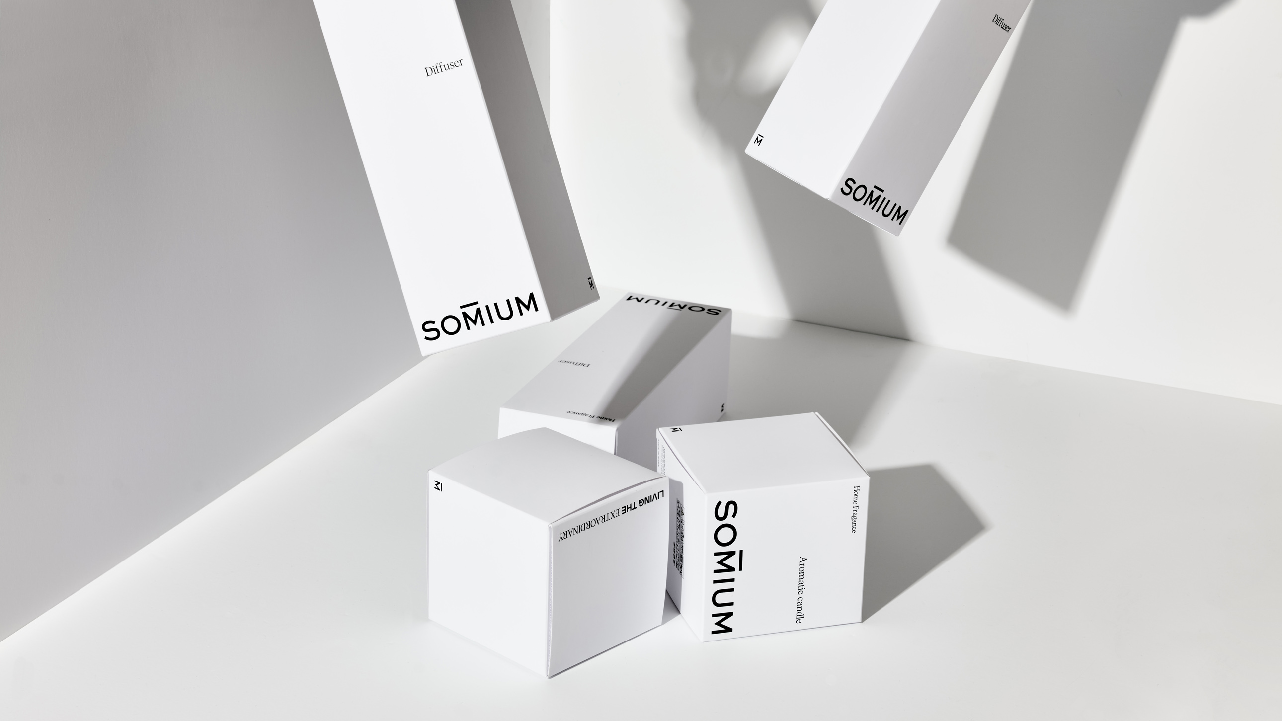 Evangelisti y Cía. Creates Brand and Packaging for Home Fragrance Somium