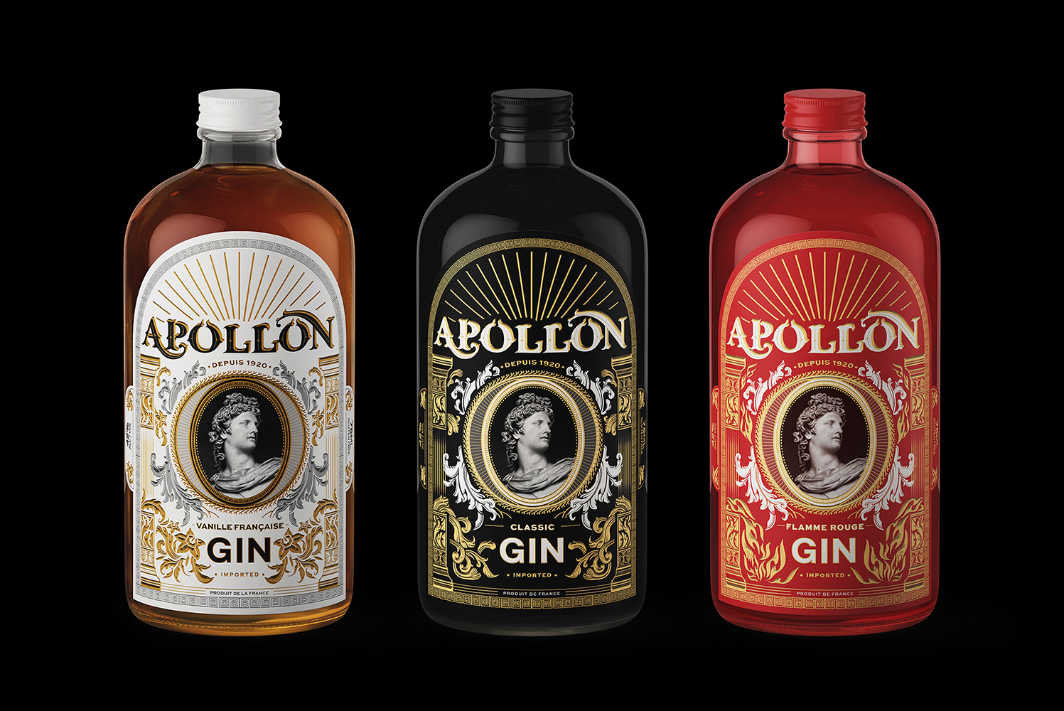 Packaging Design for Apollo Special Greek Gin