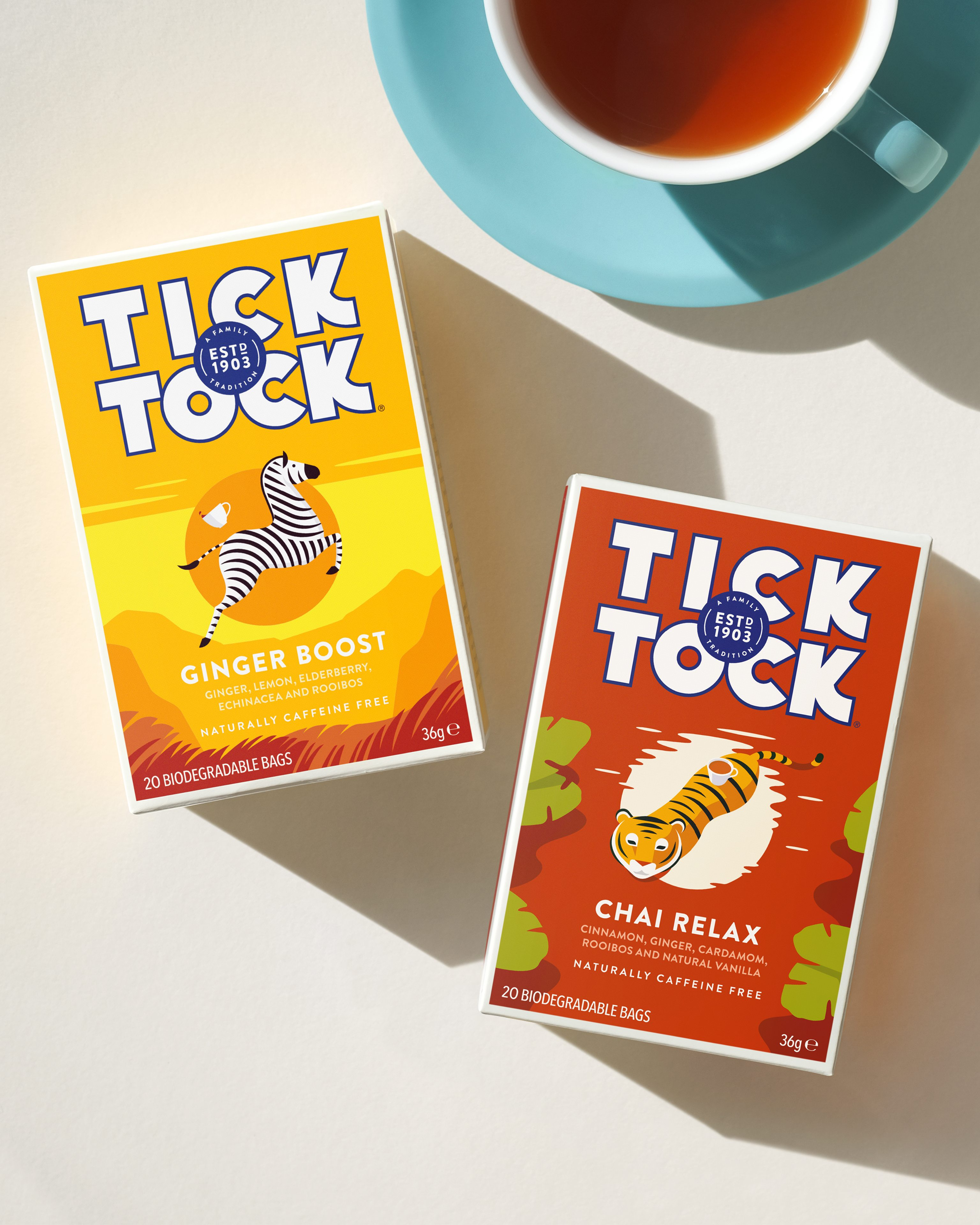 Adding Character and Joy with Tick Tock Wellbeing Tea