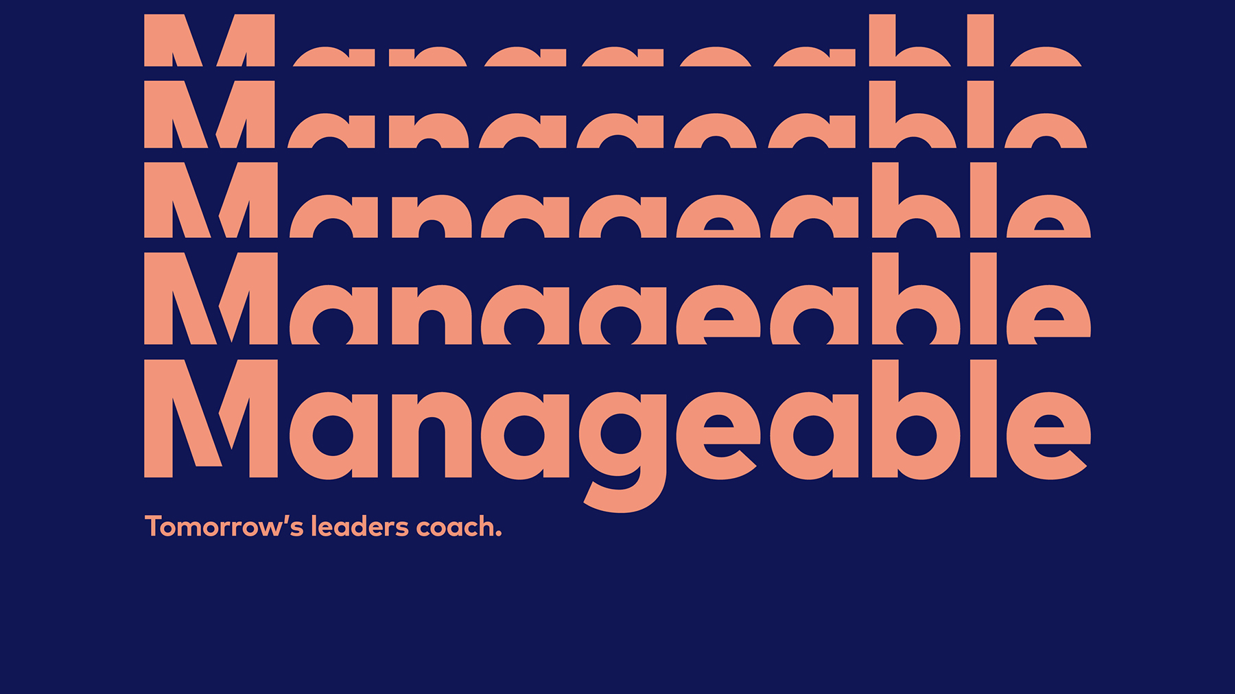 Brand Design for Manageable by White Bear