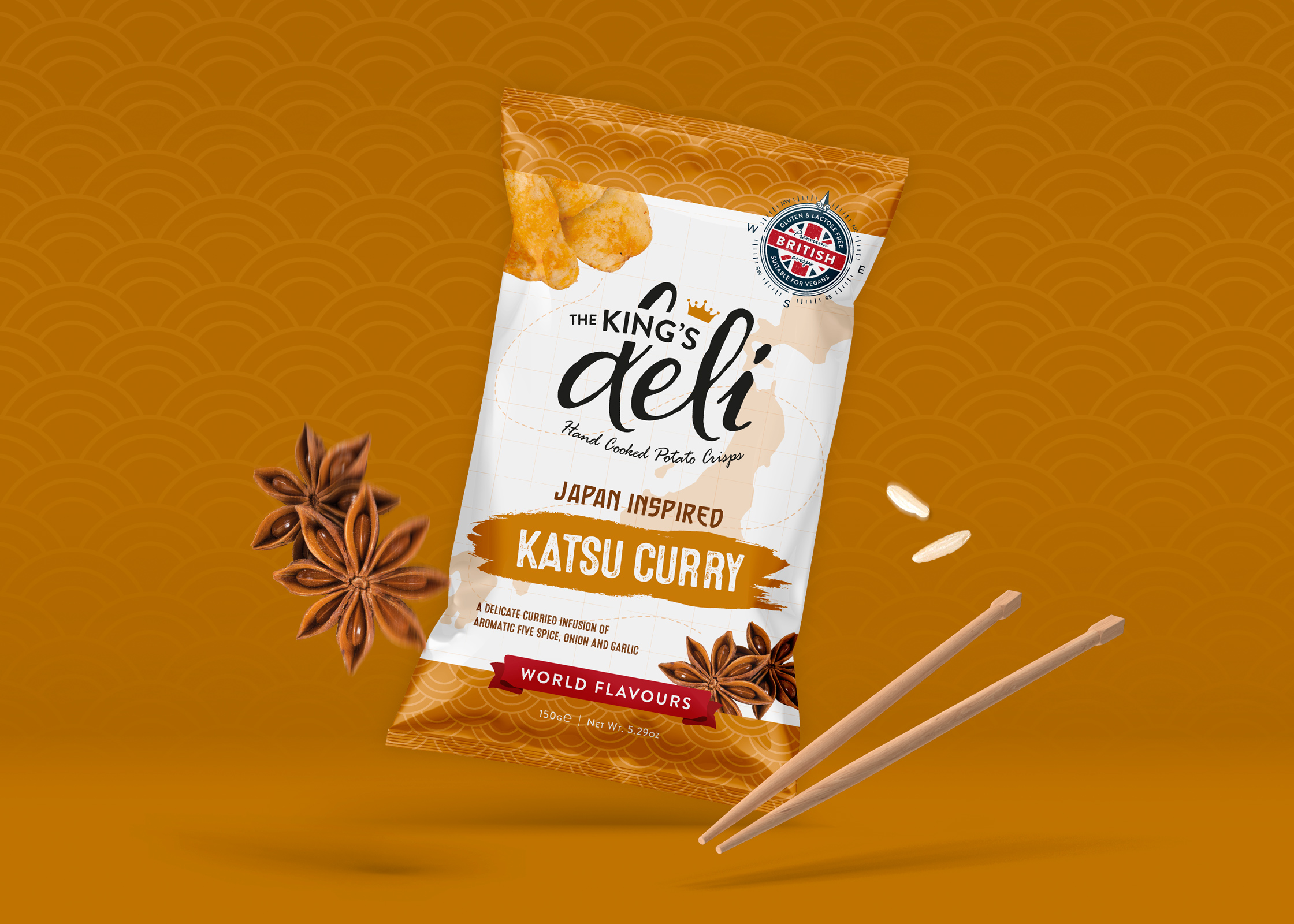Double D Creative Creates World Flavours Range for The King's Deli