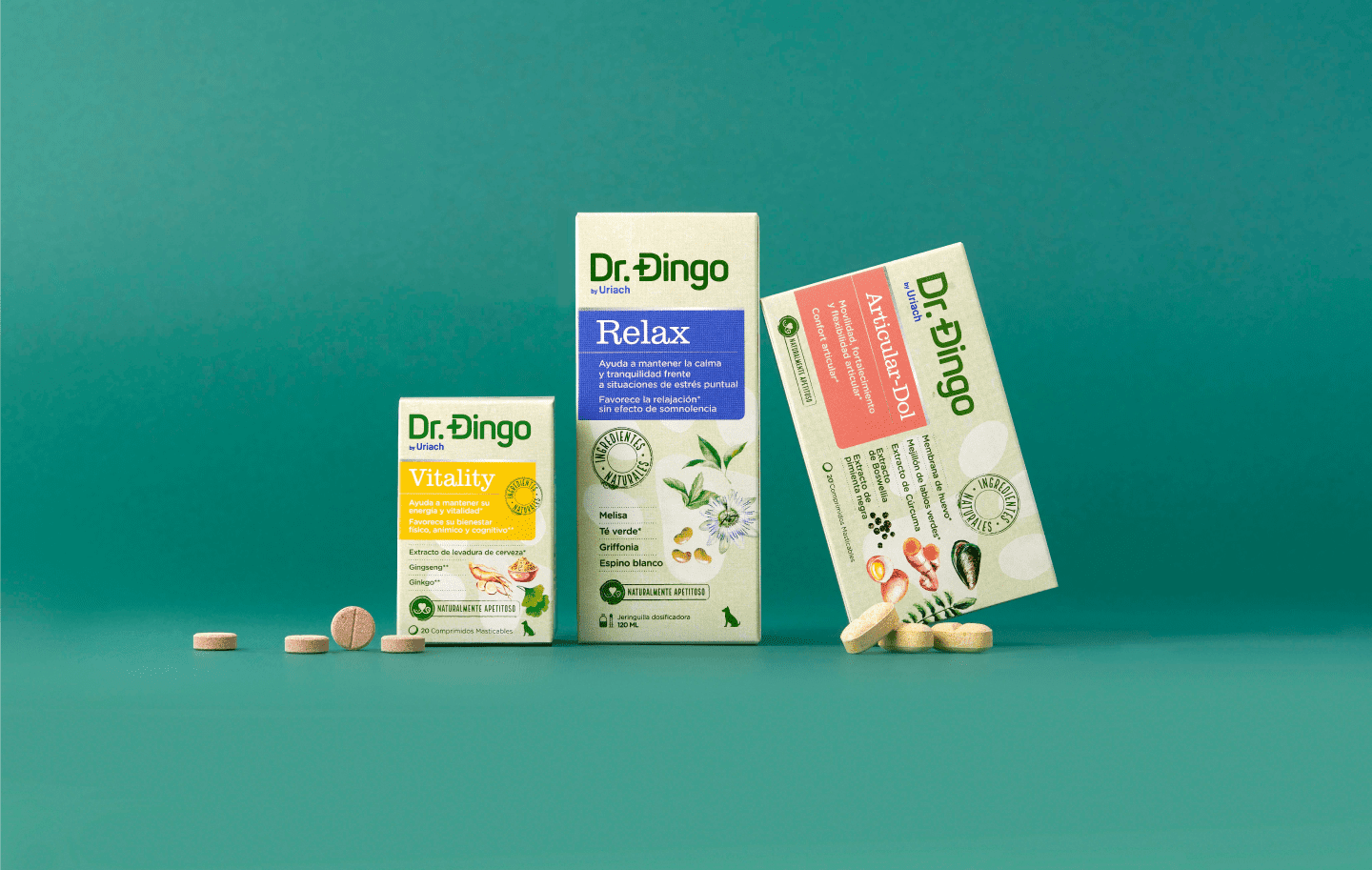 Branding and Packaging Design for Dr. Dingo Animal Health Products