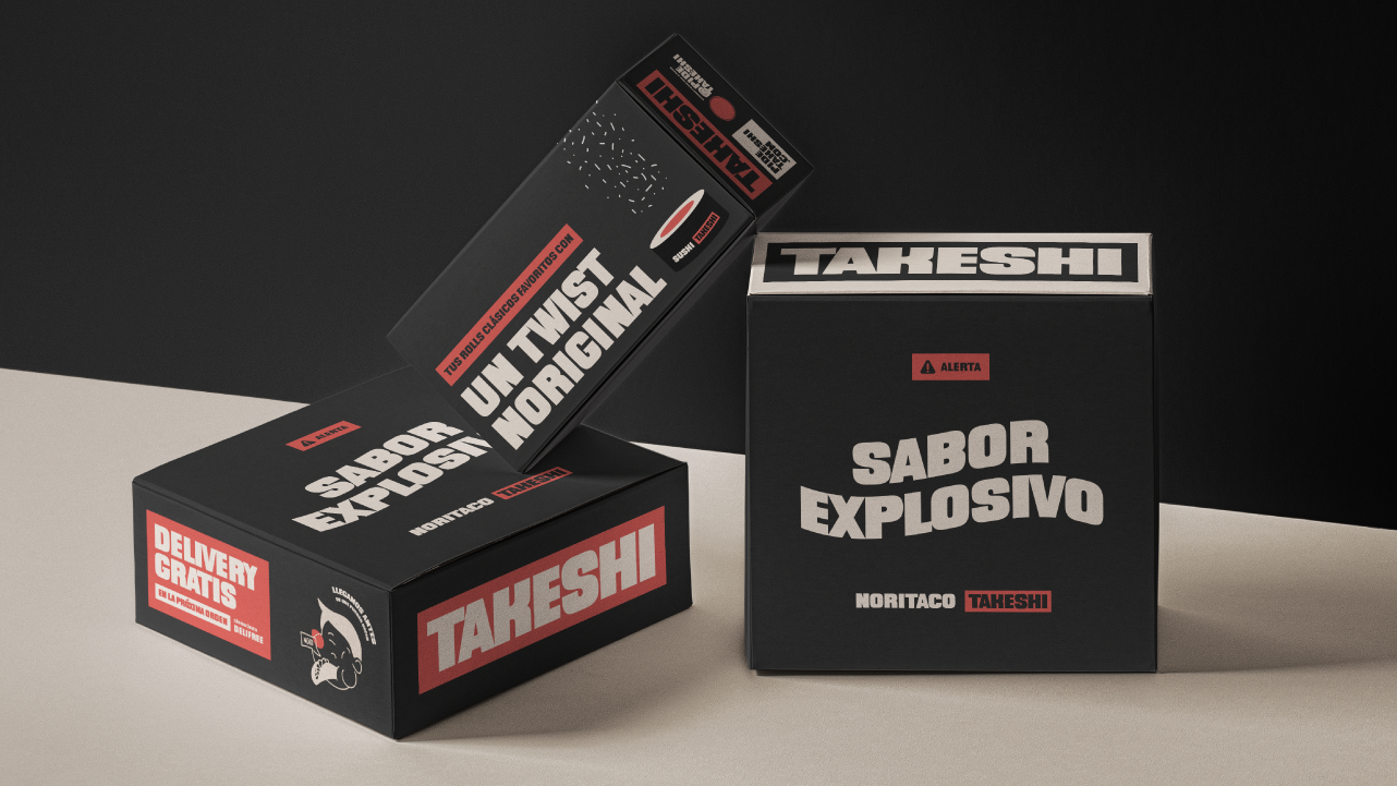 Brand Identity for Takeshi Asian Restaurant by The Brand Tag
