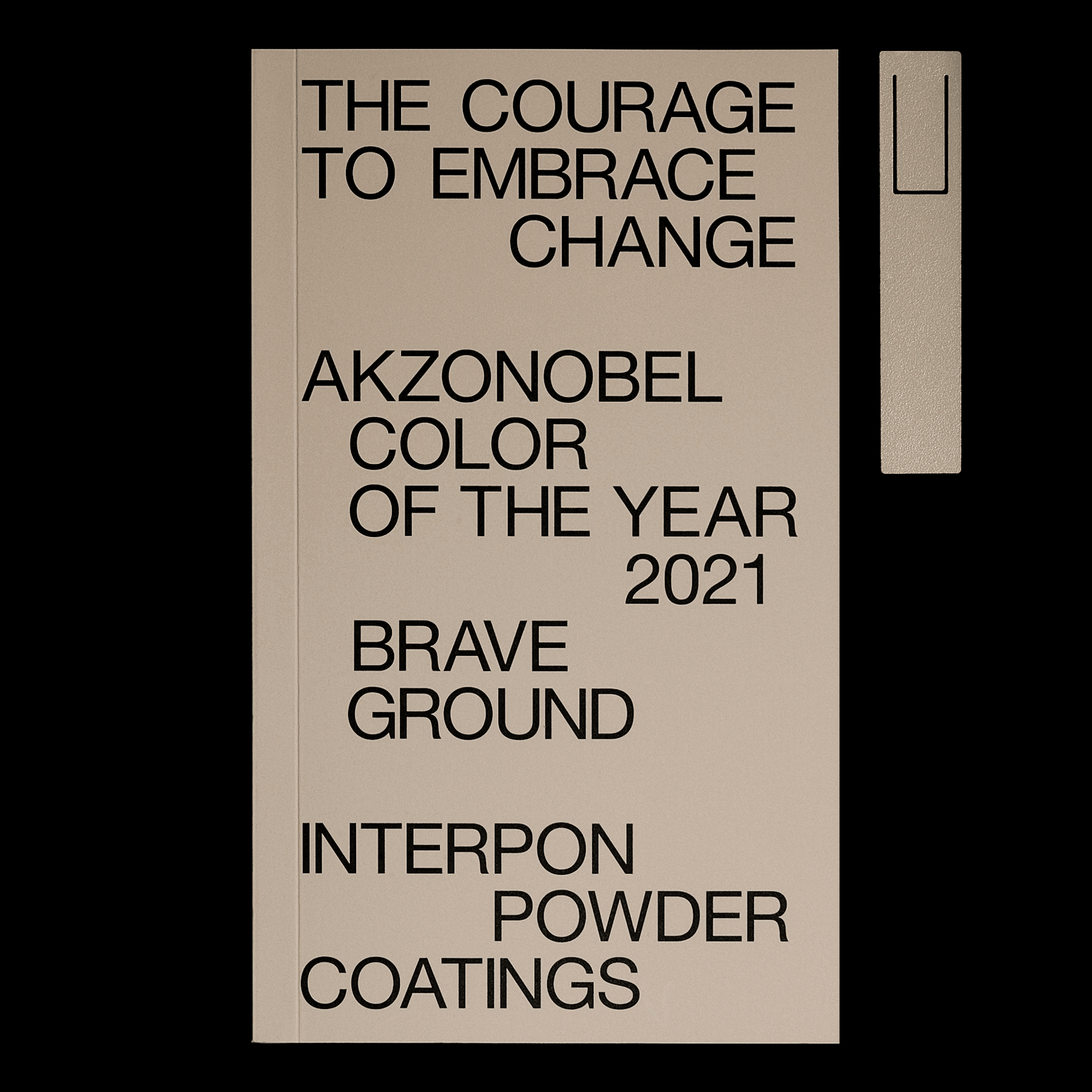 AkzoNobel's Color of the Year 2021 Brave Ground