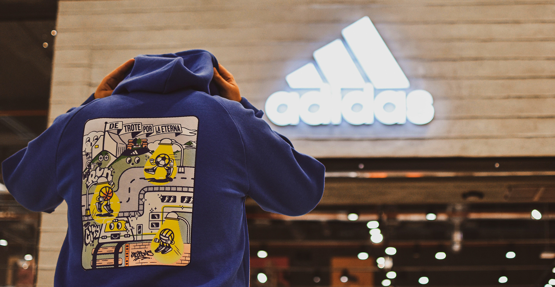 Adidas Colombia New Official Merchandise of Medellín City Designed by Nicof Maya