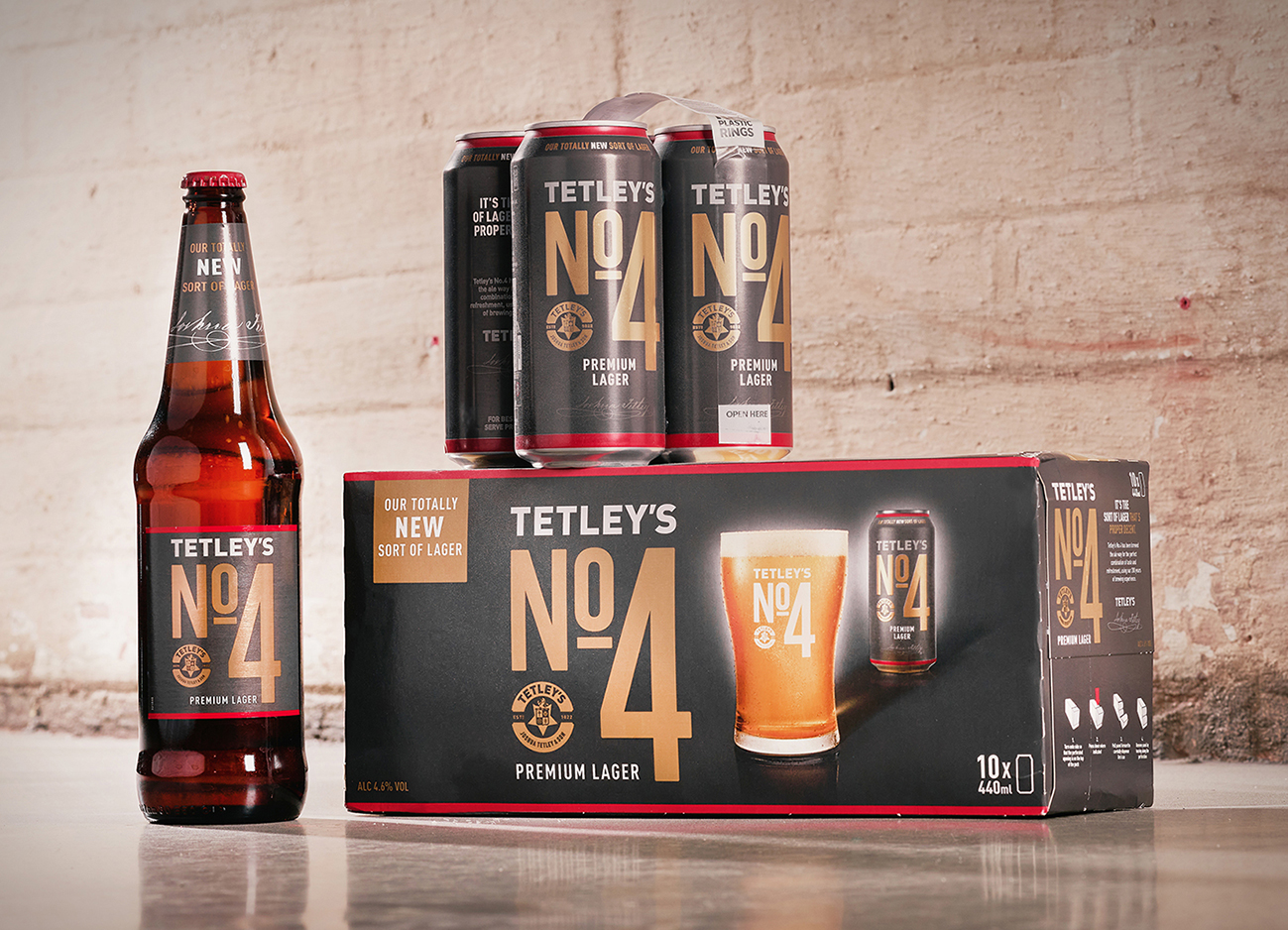 Fun Agency Cheers Creation of Tetley's First Ever Premium Lager