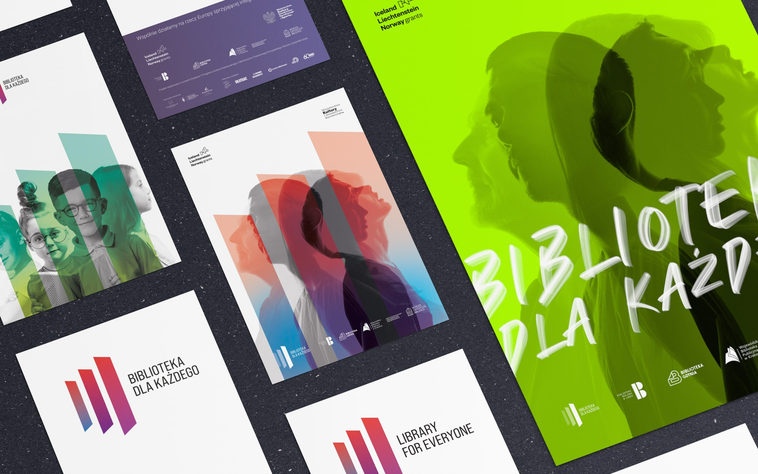 Creative Flow Create Gdynia Metropolitan Public Library Branding and Promotion