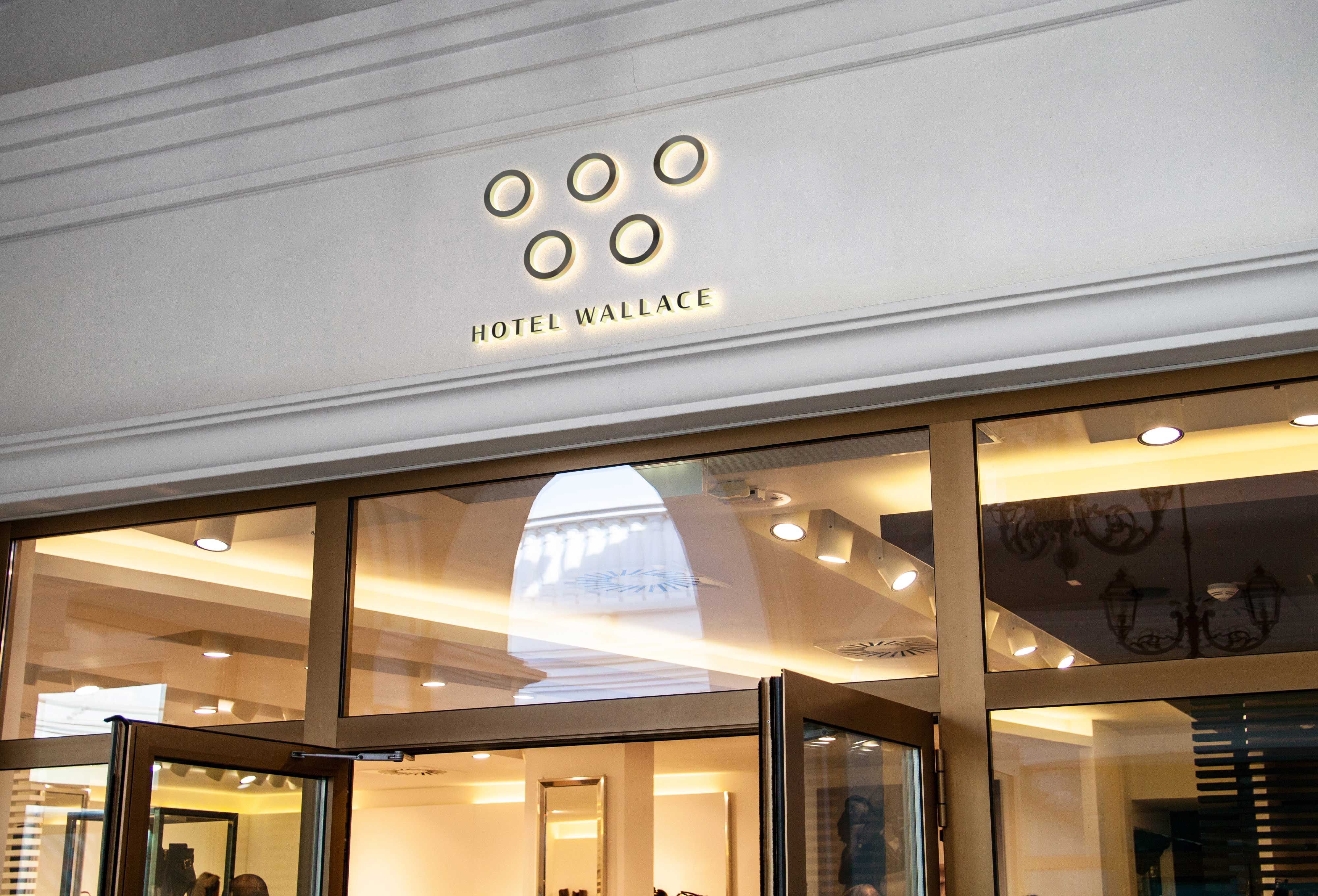 Visual Identity for Wallace a Asian Luxury Hotel Group Milan Kovacevic Design Studio