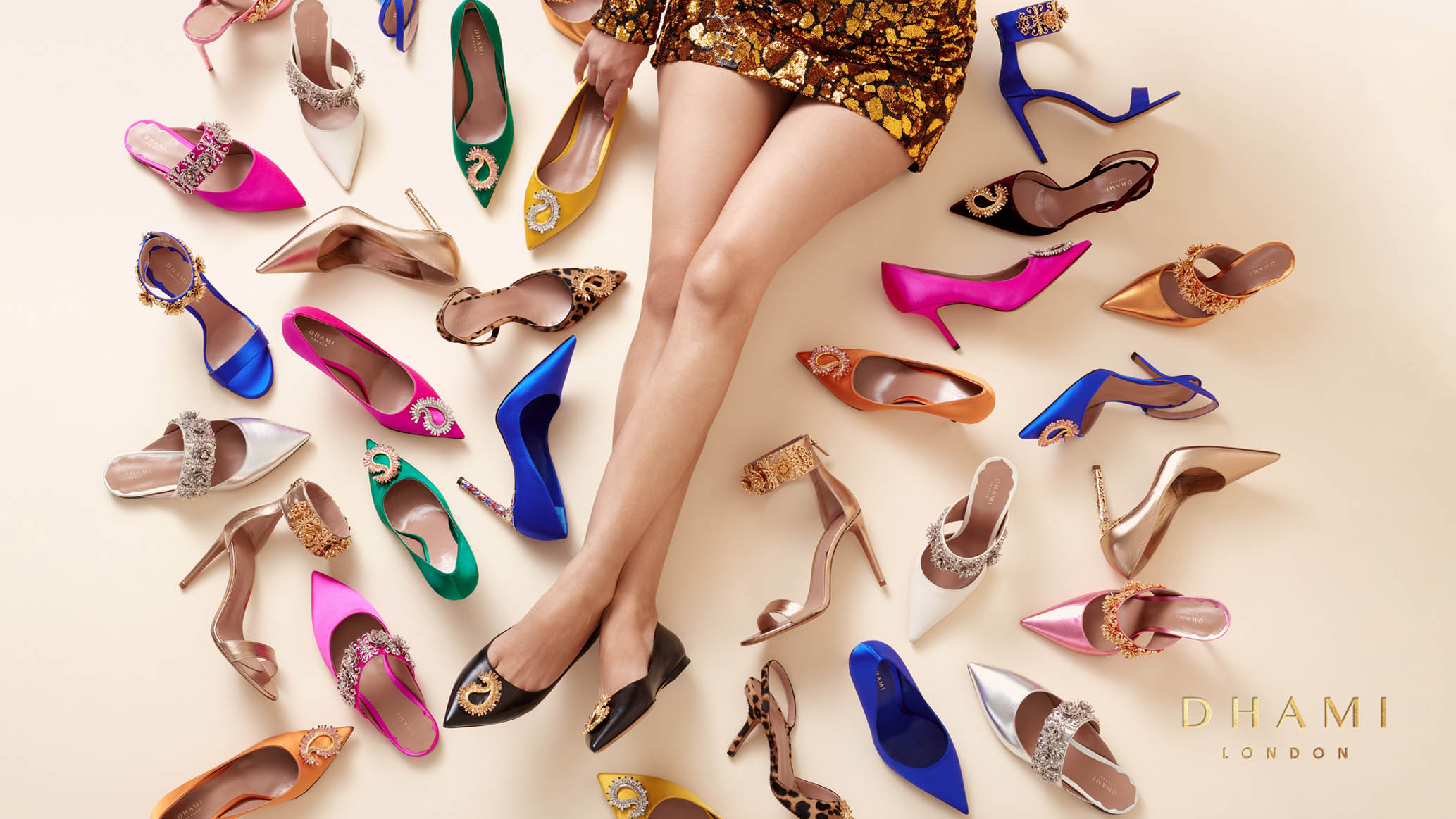Butterfly Cannon Steps into Positive Fashion with the Brand Identity for Luxury Footwear Brand DHAMI London