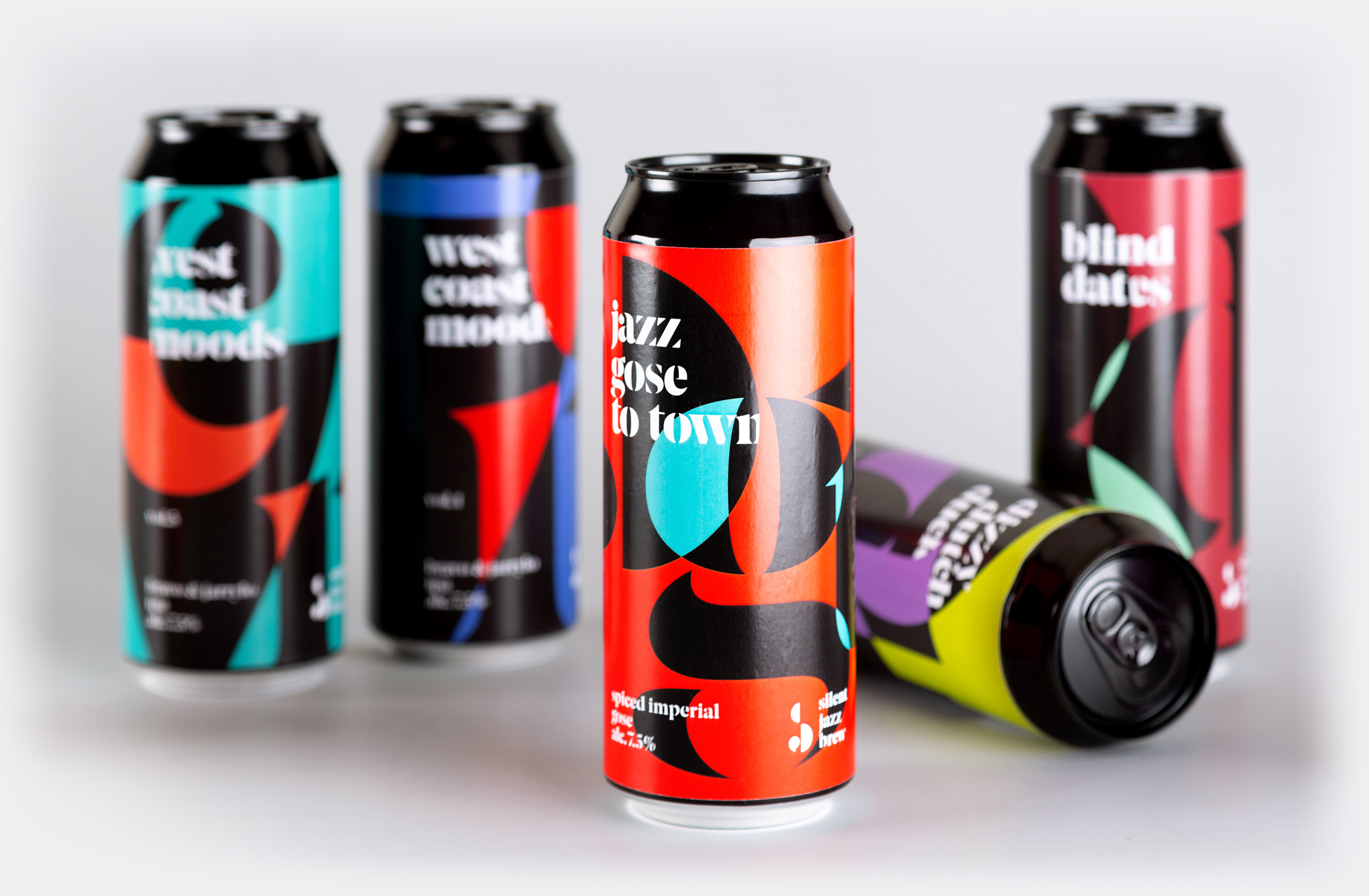 Terminal Developed Brand and Packaging Design for Silent Jazz Brew