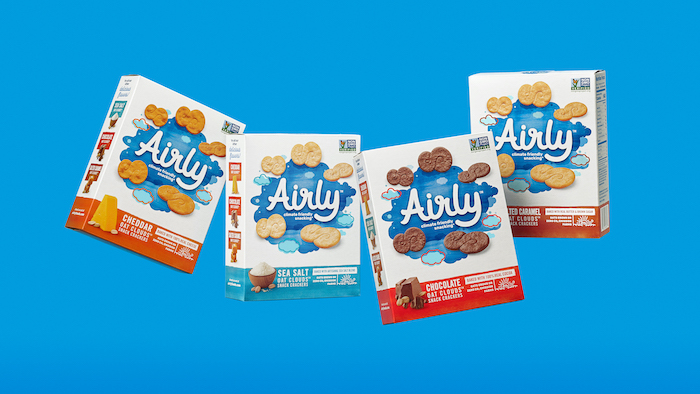 Airly Climate Friendly Snacking Oat Crackers