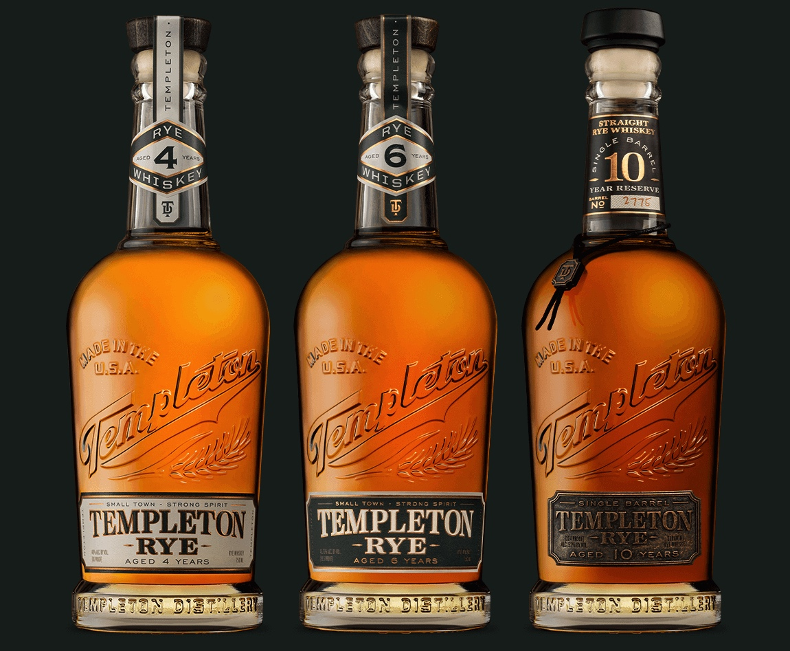 Templeton Rye: Small Town, Strong Spirit Branding by Makers & Allies