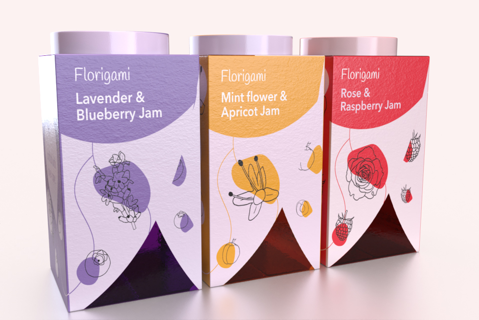 Florigami – Fruit and Flower Fusion Jams