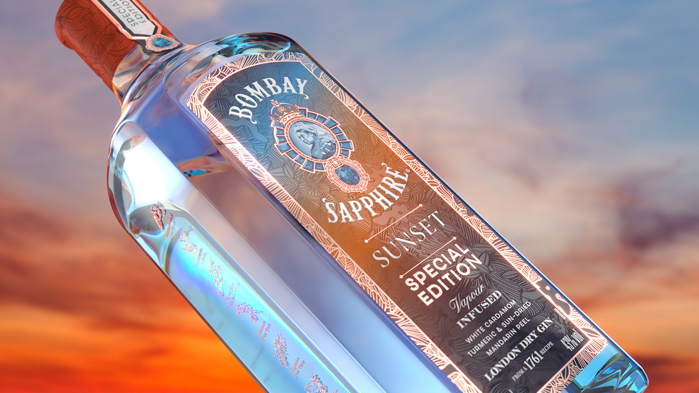 Capturing the Glow of Bombay Sapphire Sunset in Latest Design by Knockout