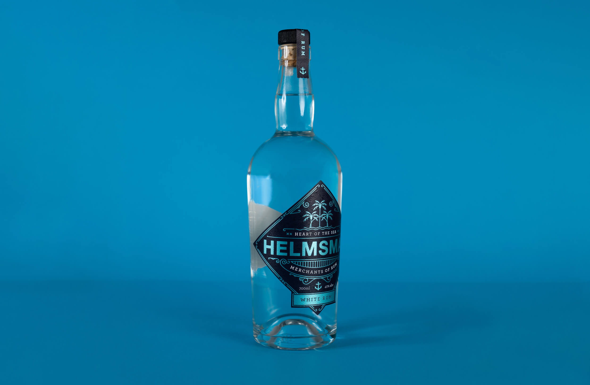Packaging Label Design for Helmsman White Rum by Society