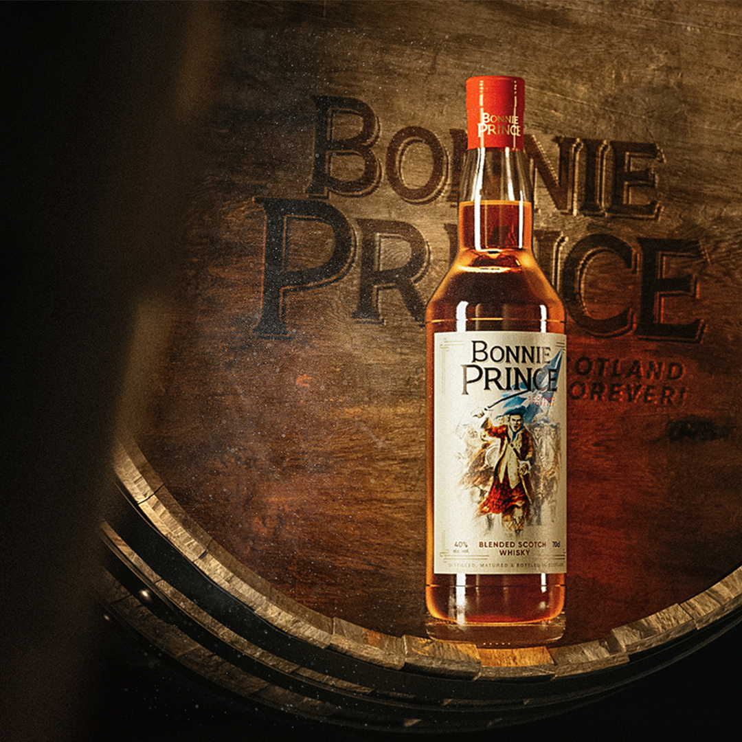 Bonnie Prince Scotch Whisky Brand and Packaging with a True Scottish Spirit by PG Brand Reforming Company