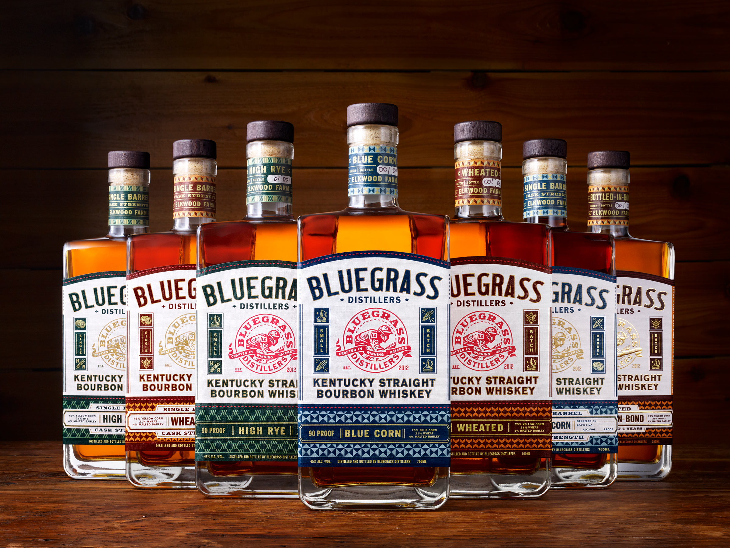 Bluegrass Distillers Take the Lead With Fresh Rebrand by Chad Michael Studio